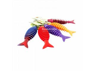 Sum-Plast. Массажер для десен в форме Рыбки №1 (14см)