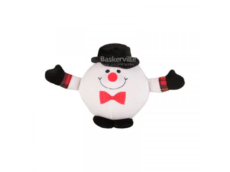 Рождественская плюшевая игрушка Снеговик