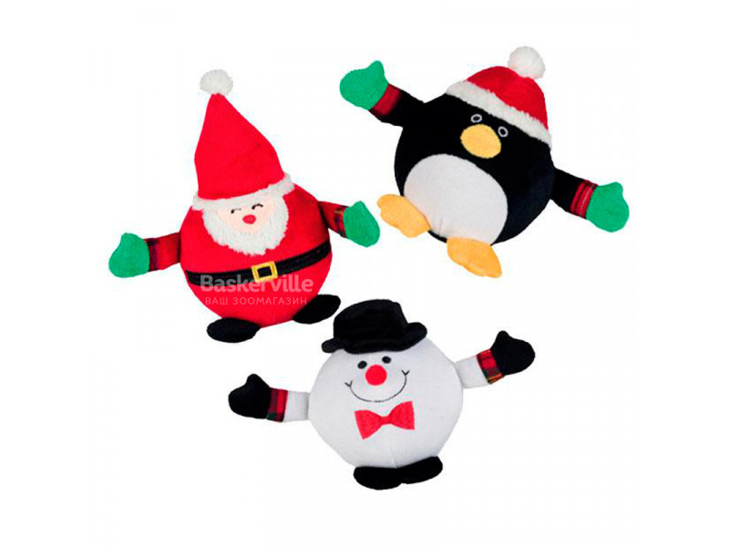 Рождественская плюшевая игрушка Санта Клаус