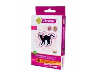 Vitomax ЭКО - ошейник против блох и клещей для кошек и мелких собак