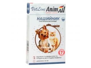 AnimАll (ЭнимОлл) VET LINE ошейник противопаразитарный для кошек и собак, 35 см