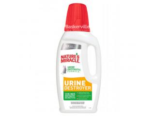 8in1 Nature's Miracle Urine Destroyer Уничтожитель пятен и запахов кошачьей мочи, 946 мл