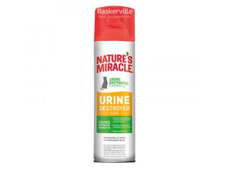 Nature`s Miracle Уничтожитель пятен и запахов от мочи кошек, аэрозоль-пена 518 мл