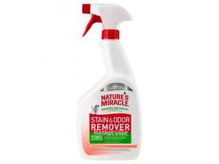 8in1 Nature's Miracle Stain & Odor Remover Уничтожитель собачьих пятен и запахов с ароматом дыни, 946 мл