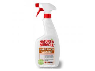 8in1 Natures Miracle HARD FLOOR Cleaner уничтожитель пятен и запаха для пола, 709 мл