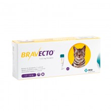 Bravecto Spot on для кошек 112,5 мг (1,2-2,8 кг) КАПЛИ