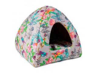 "Лежак-дом для собак и кошек Природа ""Мила"" 38х38х36 см"