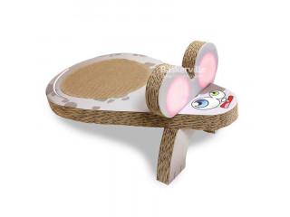 Croci драпак Мышка для котят 25 x 45 x 20 cm (картон)