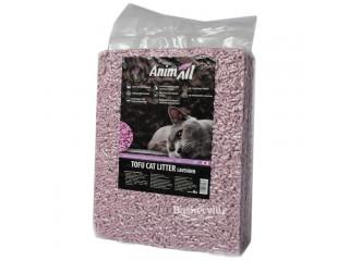 Наполнитель туалетов для кошек AnimAll Тофу с ароматом лаванды 2.6 кг (6 л)
