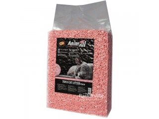 Наполнитель туалетов для кошек AnimAll Тофу с ароматом персика 2.6 кг (6 л)