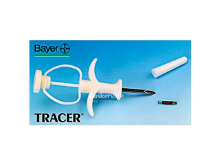 BAYER Трэйсер (система идентификации животных) МИКРОЧИП с аппликатором