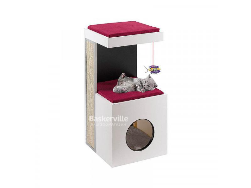 Ferplast Diablo игровой комплекс для кошек с когтеточкой ( высота 80 см )