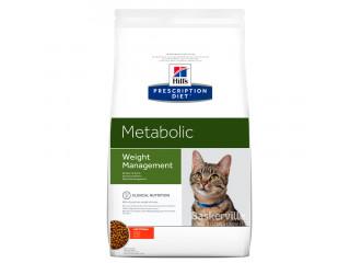 Hill's Prescription Diet Metabolic Weight Management корм для кошек курицей 1.5 кг