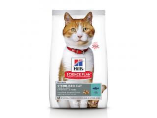 HILL'S SCIENCE PLAN Young Adult Sterilised Cat сухой корм для котов с тунцом