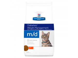 Hill's Prescription Diet m/d Diabetes/Weight Management корм для кошек с курицей 1,5 кг