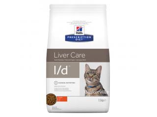Hill's Prescription Diet l/d Liver Care корм для кошек с курицей 1,5 кг