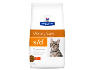 Hill's Prescription Diet s/d Urinary Care корм для кошек курицей 1.5 кг