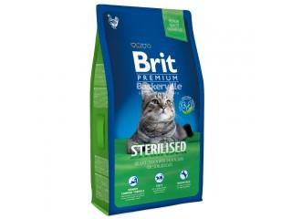 Brit Premium Cat Sterilised сухой корм для стерилизованных кошек и кастрированных котов
