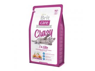 Brit Care Cat Crazy с курицей и рисом для котят