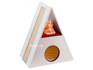Ferplast MERLIN Домик когтеточка для кошек