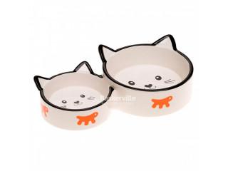 Керамическая миска для кошек Ferplast VENERE DUO