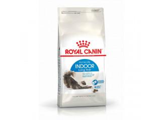 Сухой корм Royal Canin Indoor Long Hair для длинношерстных котов от 1 до 7 лет живущих в помещении