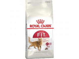 Сухой корм Royal Canin Fit для взрослых котов от 1 года бывающих на улице