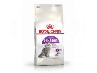 Сухой корм Royal Canin Sensible для котов от 1 года с чувствительным пищеварением