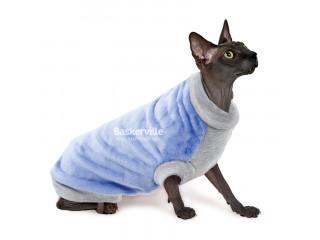 Свитер для котов и кошек Pet Fashion ТОМАС S, сиреневый