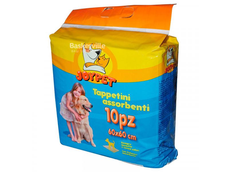 JoyPet - пеленки абсорбирующие для щенков и собак 60 х 60 см