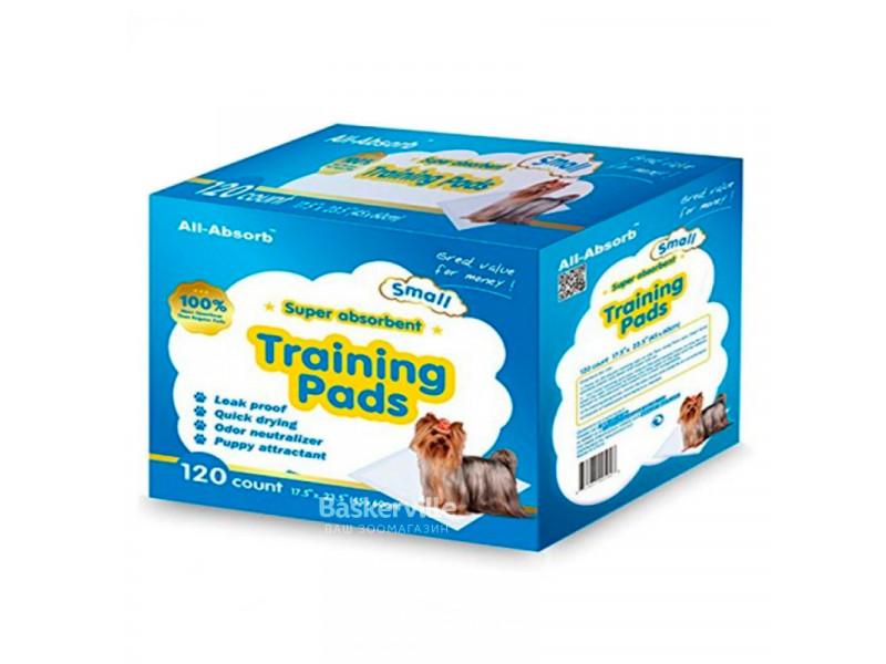 Пеленки для собак All-Absorb Regular Training Pads 45 х 60 см / 120 штук
