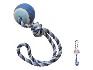 Croci Игрушка для собак канат грейфер с петлей и мячиком
