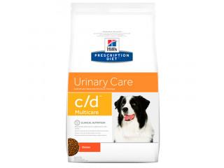 Hill's Prescription Diet c/d Multicare Urinary Care корм для собак с курицей 12 кг