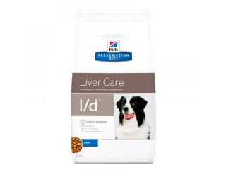 Hills Prescription Diet Canine l/d, с нарушениями и/или снижением функций печени 2 кг