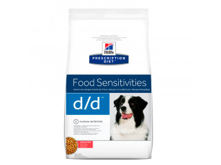 Hill's Prescription Diet d/d Food Sensitivities корм для собак с лососем и рисом 2 кг