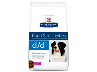 Hill's Prescription Diet d/d Food Sensitivities корм для собак с уткой и рисом 2 кг