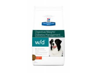 Hill's Prescription Diet w/d Digestive/Weight/Diabetes Management корм для собак с курицей