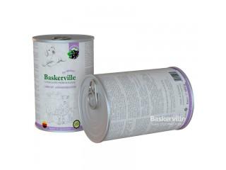Консервированный корм для щенков Baskerville Ягненок и смородина, 400г