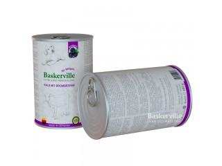 Консервированный корм для щенков Baskerville Телятина и ежевика, 400г