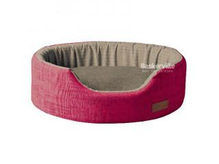 Croci Лежак COZY FUXIA, розово-серый 42*30*13 см