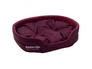 Лежак для собак Природа Люкс 2 52x36x20 см Бордо