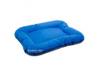 Лежак Природа Аскольд 5 102x76x14 см синий/голубой