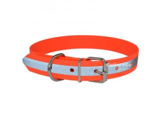 BEFORE Ошейник 25 мм, 400мм-570мм для охотничьих собак водонепроницаемый, светоотражающий