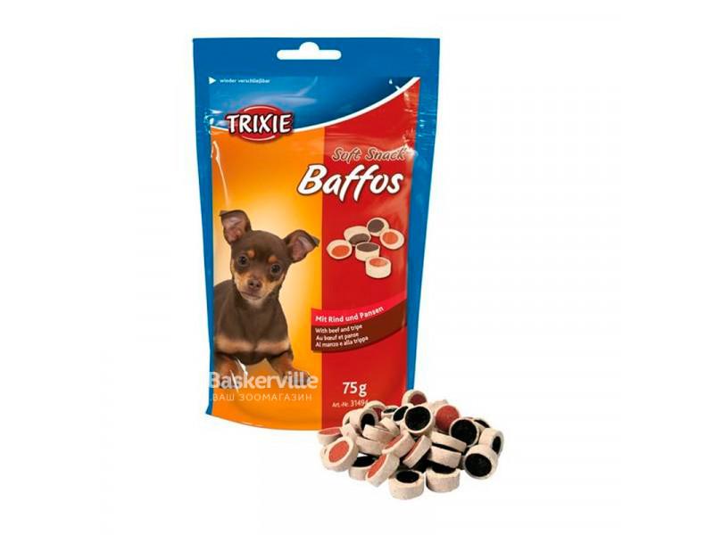 Trixie - Лакомство для собак с говядиной и желудком Baffos