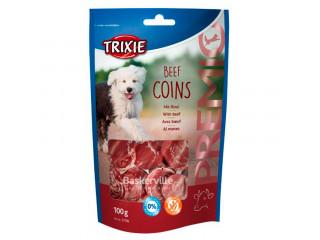 Trixie PREMIO Beef Coins 100гр - лакомство для собак с говядиной