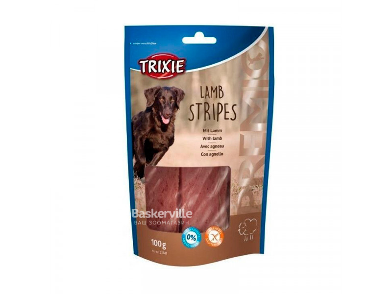 "TRIXIE Лакомства для собак ""PREMIO Lamb Stripes"" ягненок 100 г"