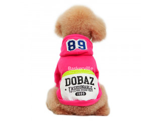 DOBAZ Жилет с капюшоном, розовый
