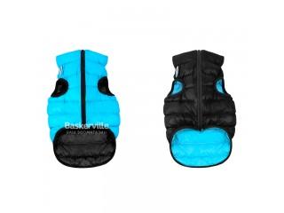 Collar (Коллар) AIRY VEST (ДВУСТОРОННЯЯ) куртка для собак, черно-синий. М-45