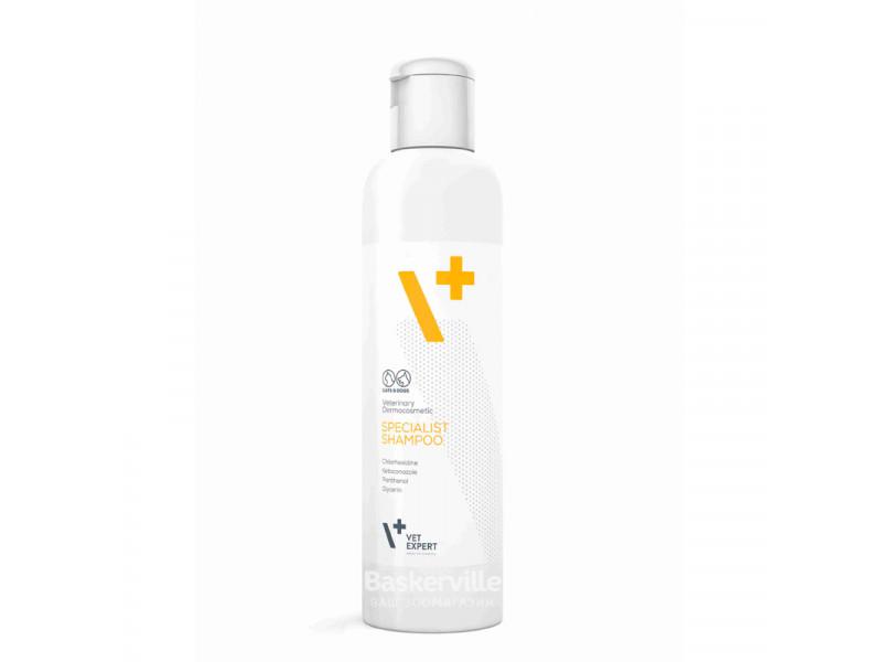 VetExpert (ВетЭксперт) Specialist Shampoo Антибактериальный - противогрибковый шампунь для собак и кошек, 250 мл