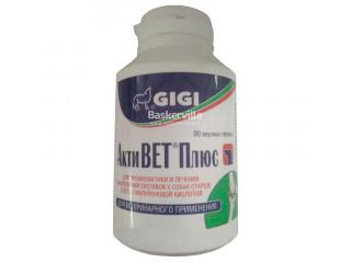 Витамины GIGI Акти Вет плюс (гиалур, глюкозамин, хондроитин, МСМ) 1т/15кг